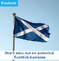 Smart Money: Don't miss out on potential Scottish business